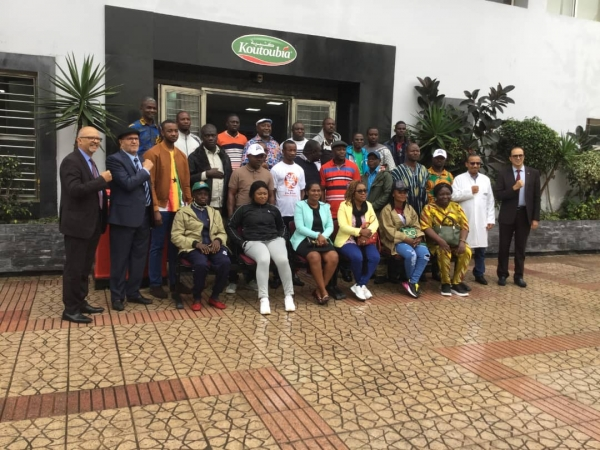 2018 National Farmers Day Award Winners on a week-long training tour to Casablanca, Morocco.